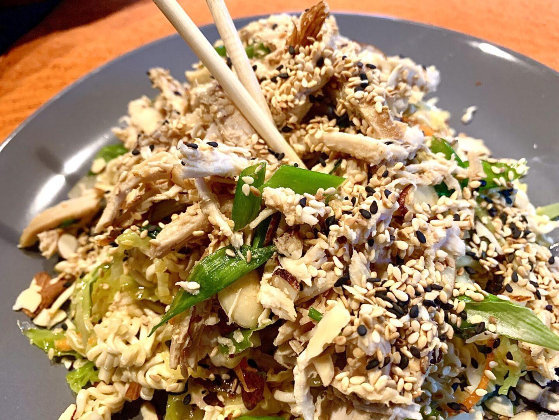 Thai Rotissere chicken ramen salad